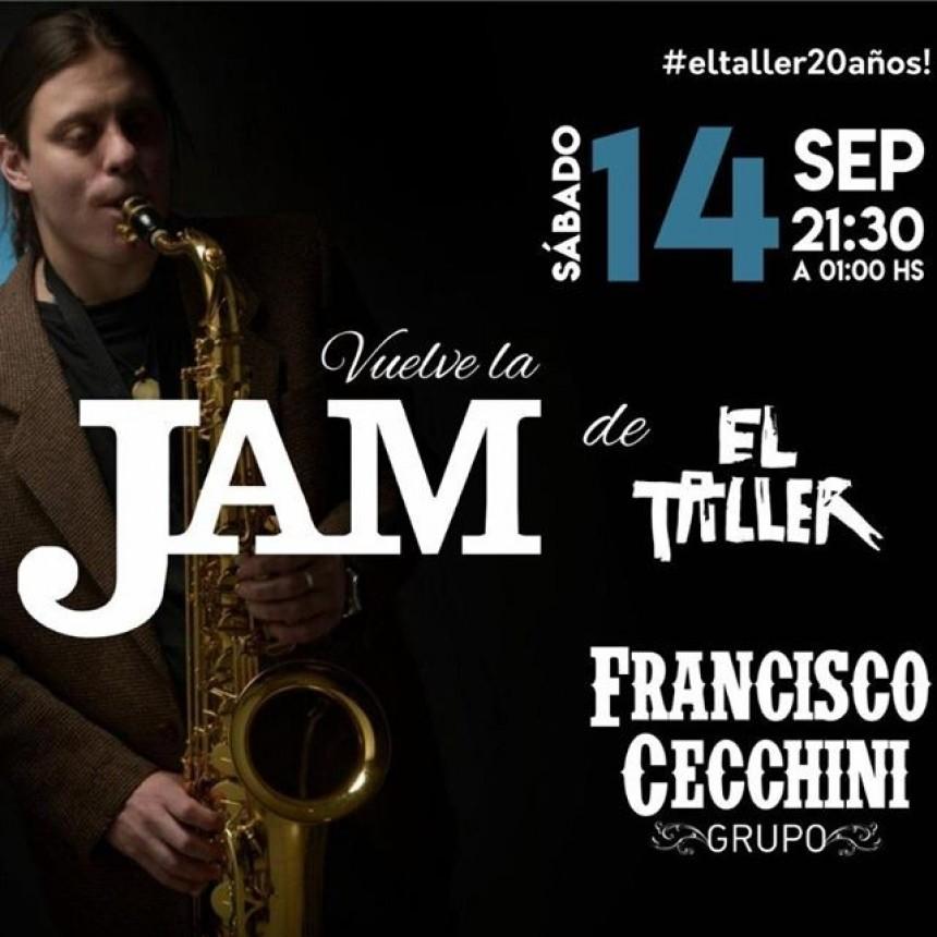 14/9 - Jam de El Taller Francisco Cecchini Grupo