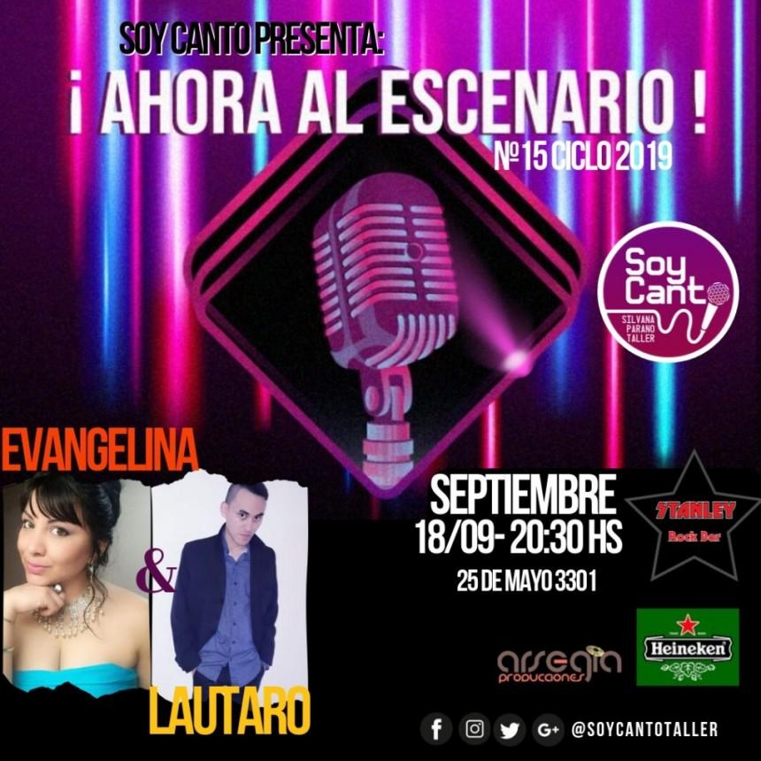 18/9 - Y AHORA AL ESCENARIO!!!!