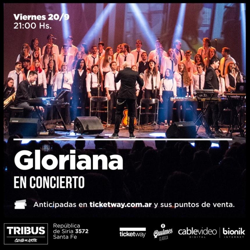 20/9 - Gloriana en Concierto