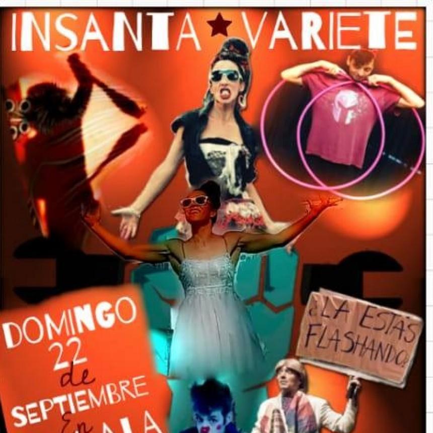 22/9 - La Insanta Varieté llega a Uhlala