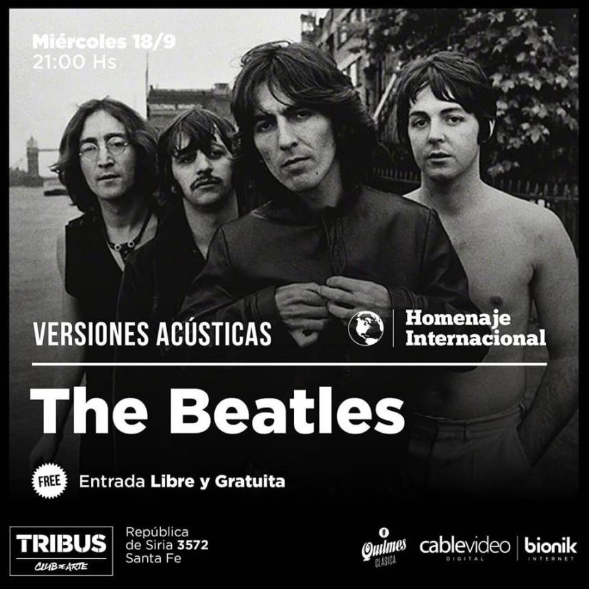 18/9 - Tributo acústico a The Beatles en Tribus