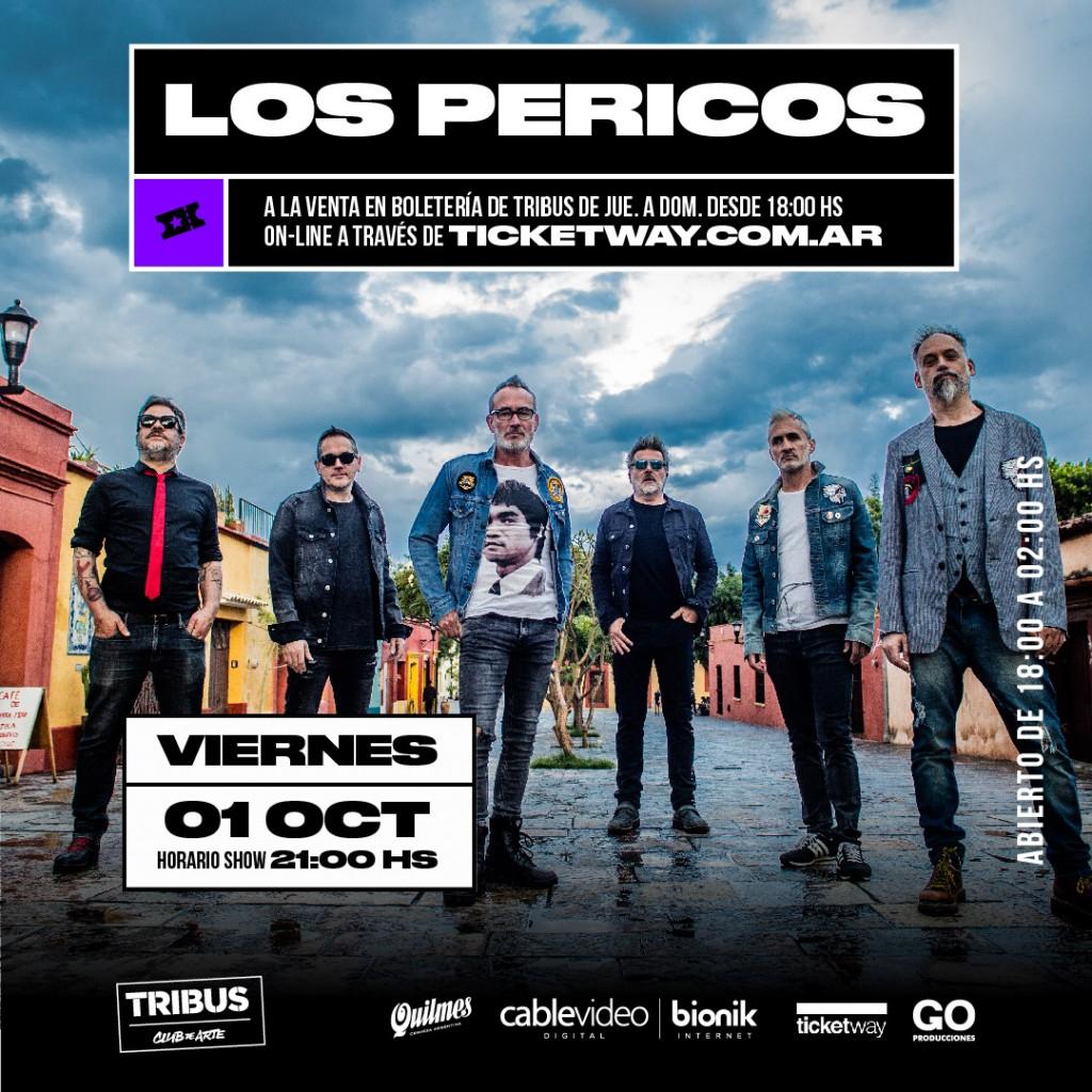 1/10 - LOS PERICOS en Tribus