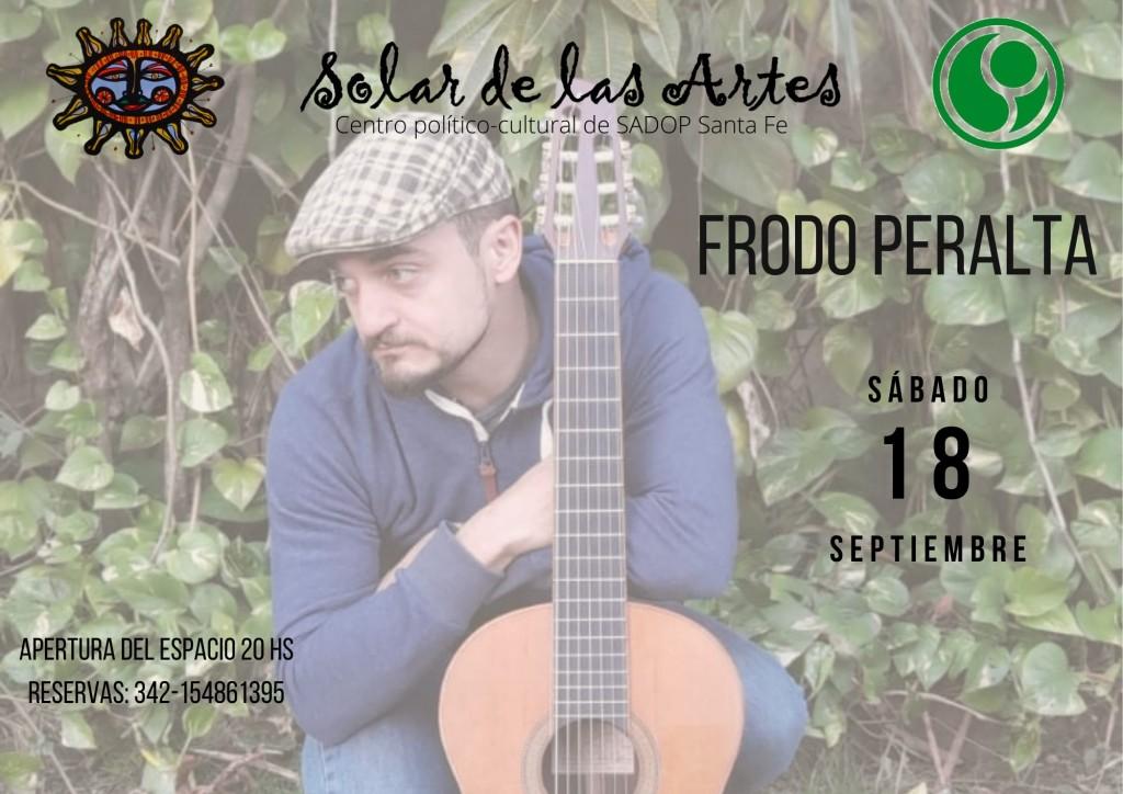 18/9 - Frodo Peralta en El Solar