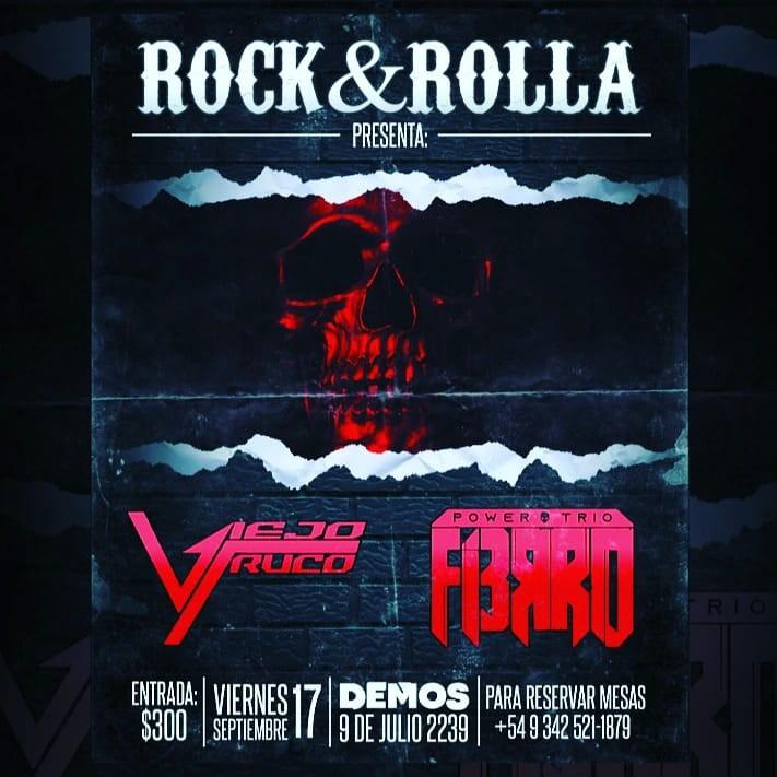 17/9 - Rock&Rolla presenta en DEMOS