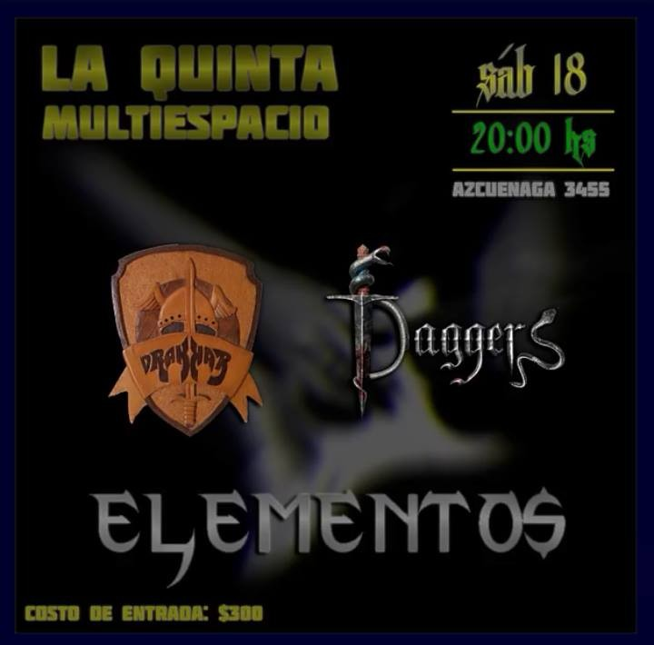 18/9 - Noche de Heavy Metal en La Quinta