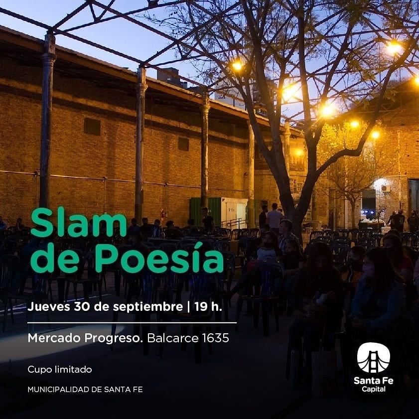 30/9 - SLAM de poesìa en el Mercado Progreso