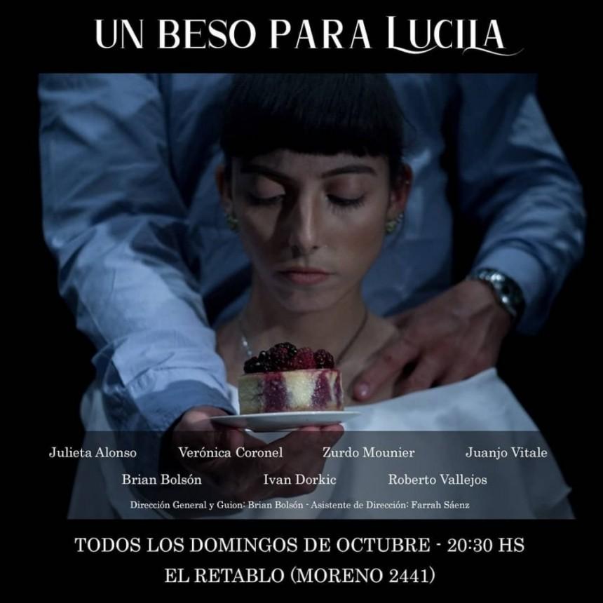 Domingos de octubre en EL RETABLO: UN BESO PARA LUCILA