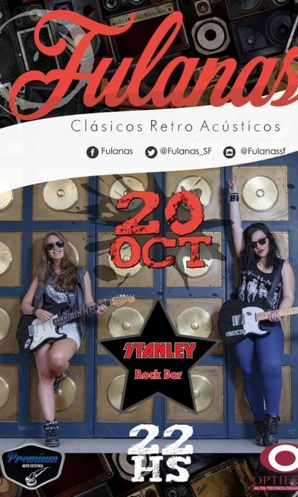 20/10 - FULANAS.. Mucho ..Rock&Amigos en Stanley