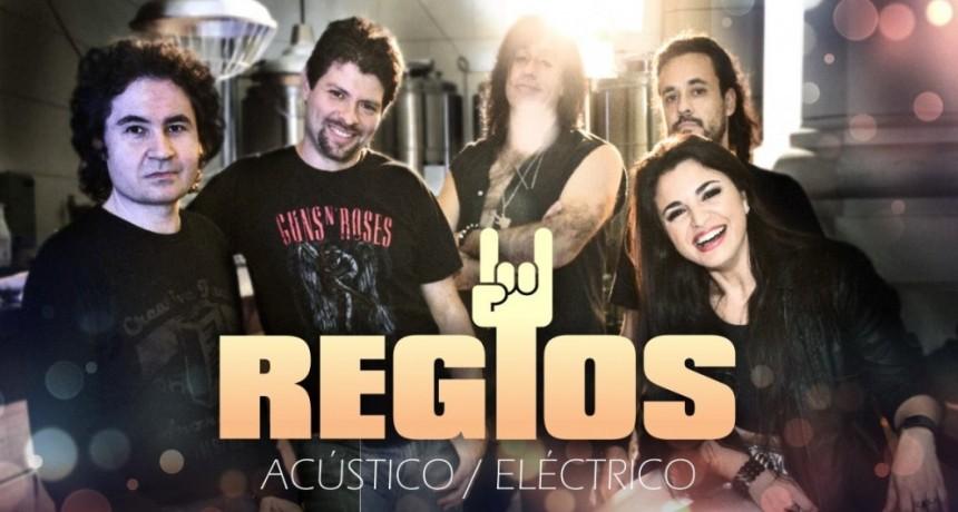 26/10 - REGIOS acústico/eléctrico en VIVO!