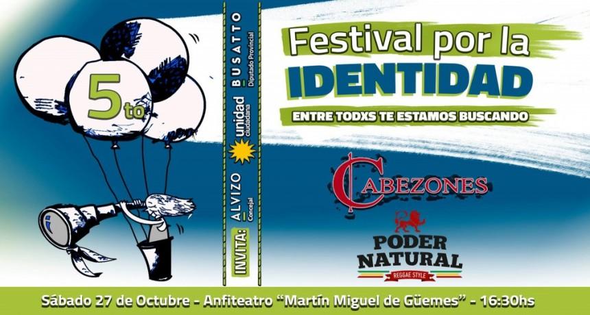 27/10 - 5to Festival por la Identidad