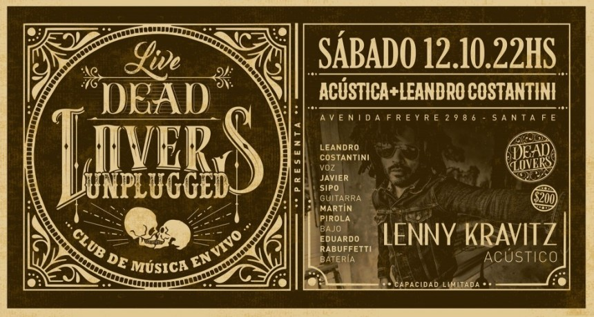 12/10 - Acústica + Leandro Costantini - DeadLovers Unplugged