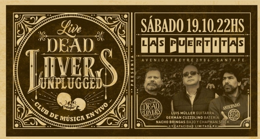 19/10 - Las Puertitas - DeadLovers Unplugged