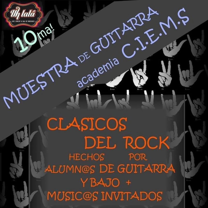 19/10 - Muestra de Guitarra y Bajo de academia CIEMS
