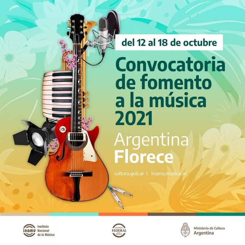 Convocatoria de Fomento a la Música 2021