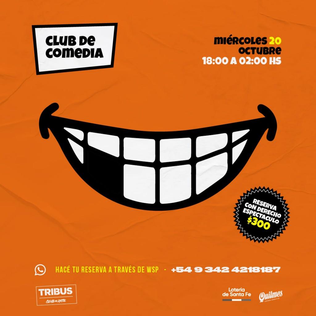 20/10 - Club de la comedia en Tribus