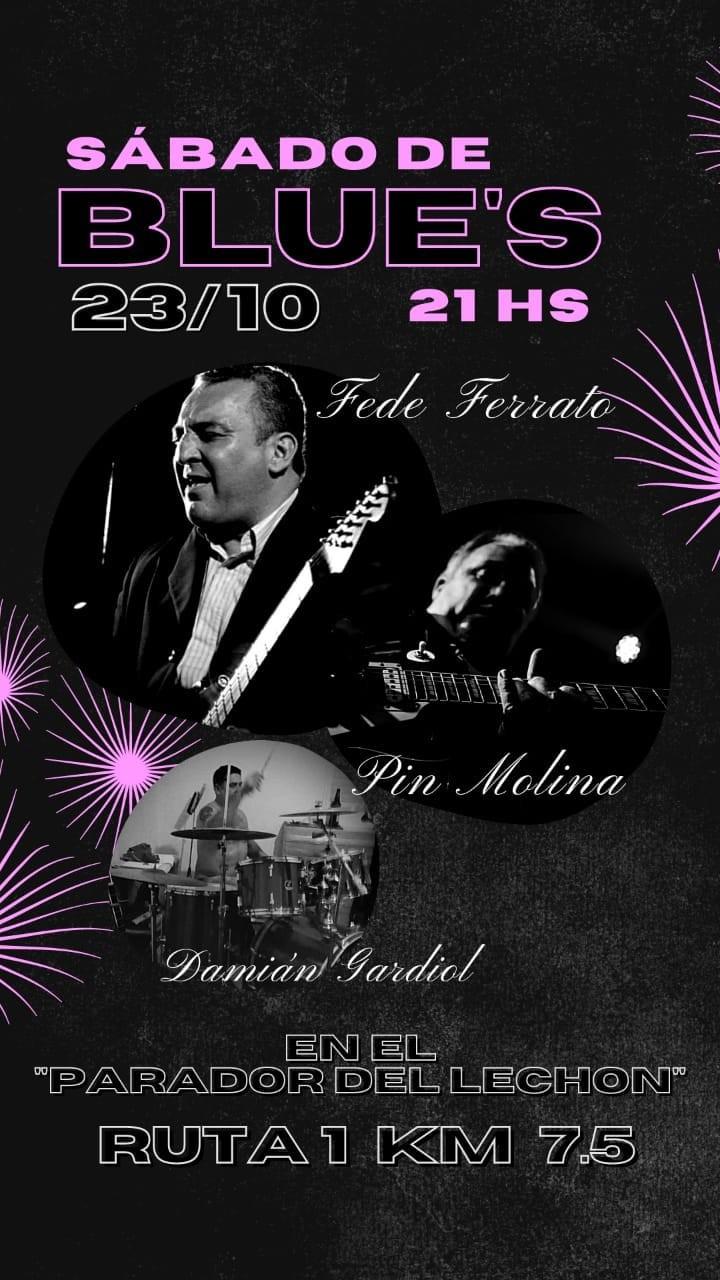 23/10 - Ferrato & Molina & Gardiol en el Parador del Lechòn