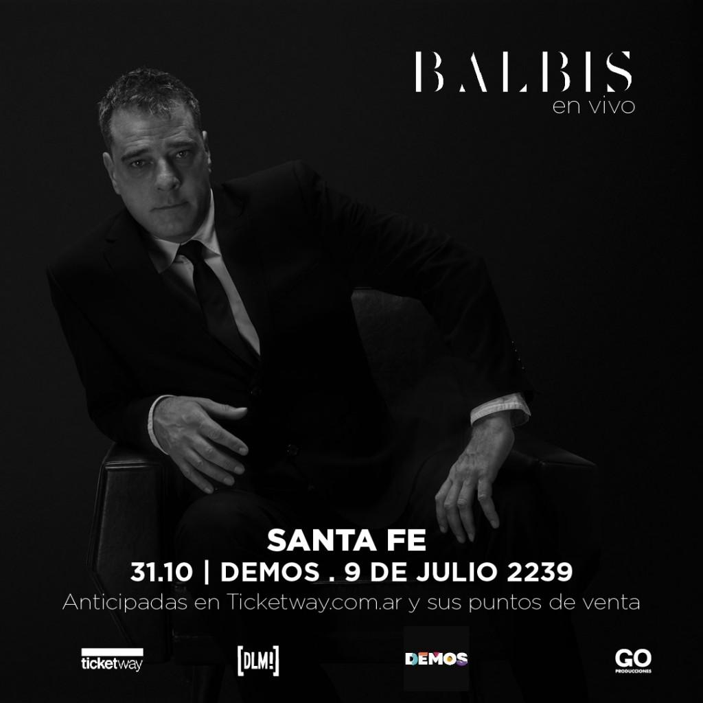 31/10 - Alejandro Balbis en Demos