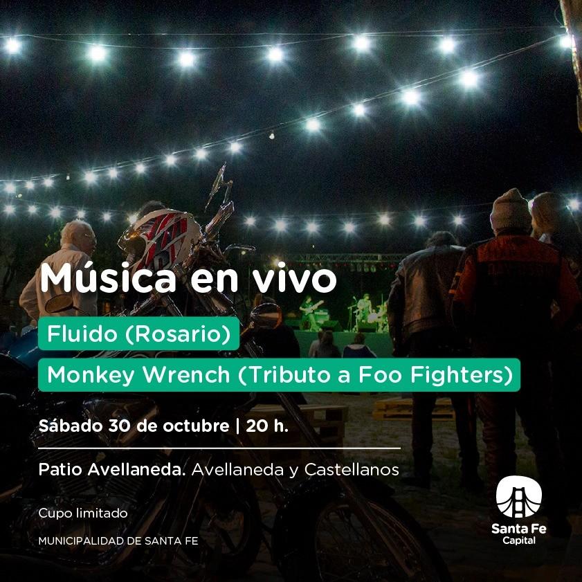 30/10 - Mùsica en vivo en Patio Avellaneda ll