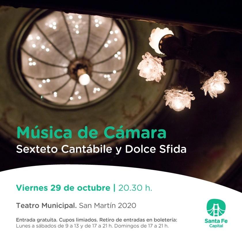 29/10 - Mùsica de Càmara en el Teatro Municipal