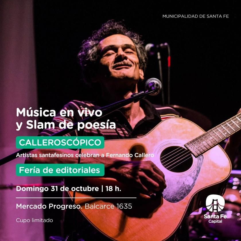 31/10 - Mùsica en vivo y Slam de poesìa en el Mercado Progreso