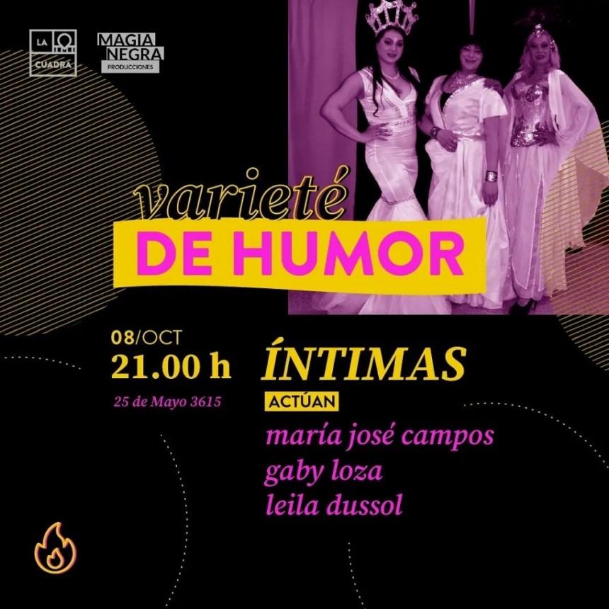 8/10 - Varietè de humor en La Cuadra