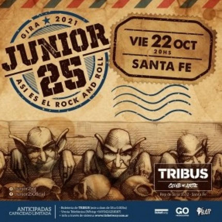 22/10 - JUNIOR 25 en Tribus