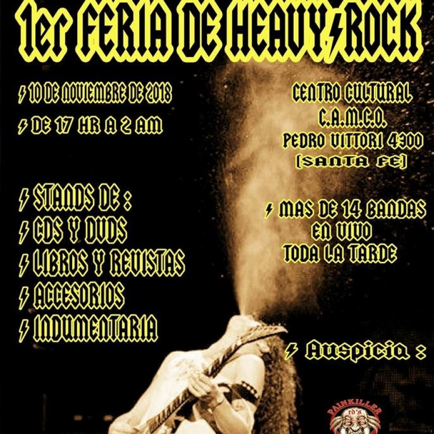 10/11 - Feria Heavy / Rock - Santa Fe