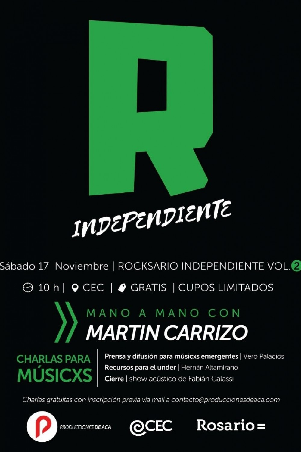 17-18/11 - ROCKSARIO INDEPENDIENTE VOL 2