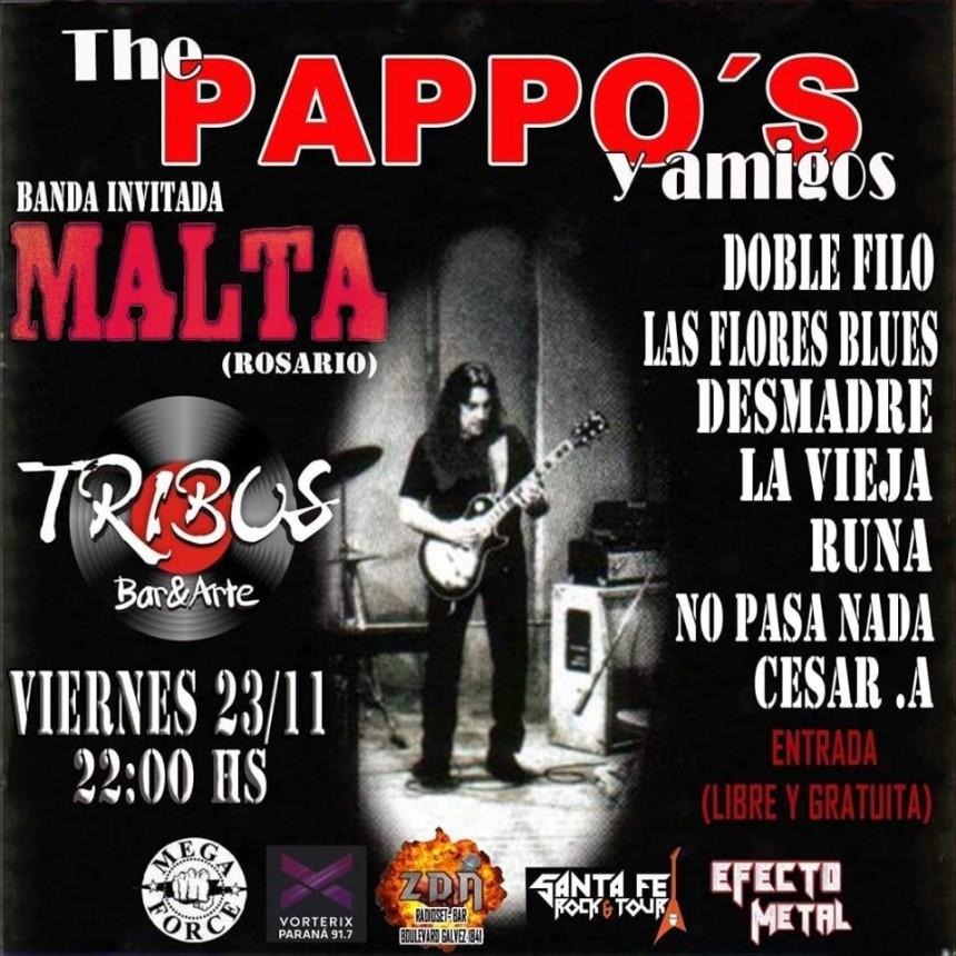 23/11 - THE PAPPOS & amigos en Tribus