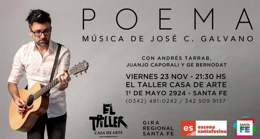 23/11 -  José Galvano en El Taller