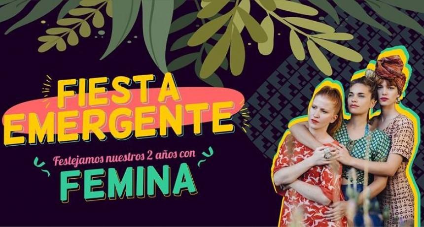 24/11 - Fiesta Emergente | Festejamos nuestros 2 años con Fémina