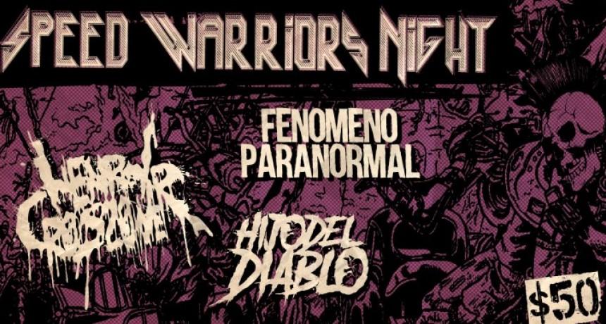 24/11 - Speed Warriors Night