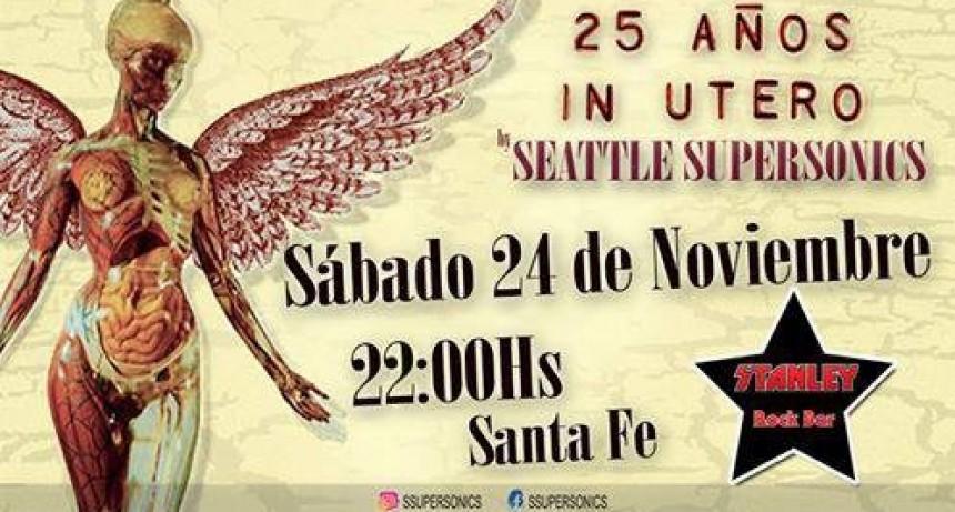 24/11 - 25 años de In Utero :: Seattle Supersonics en Sante Fé