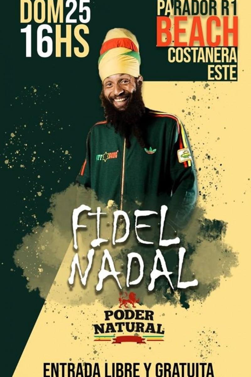 25/11 - PODER NATURAL & FIDEL NADAL: SUSPENDIDO