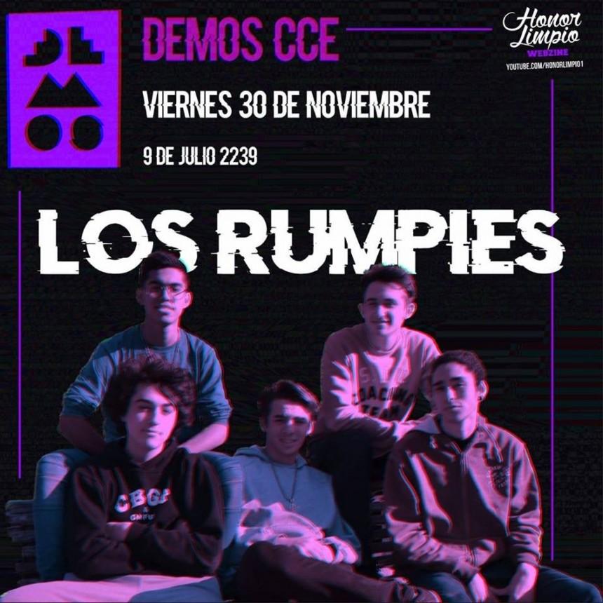 30/11 - Los Rumpies en Demos CCE