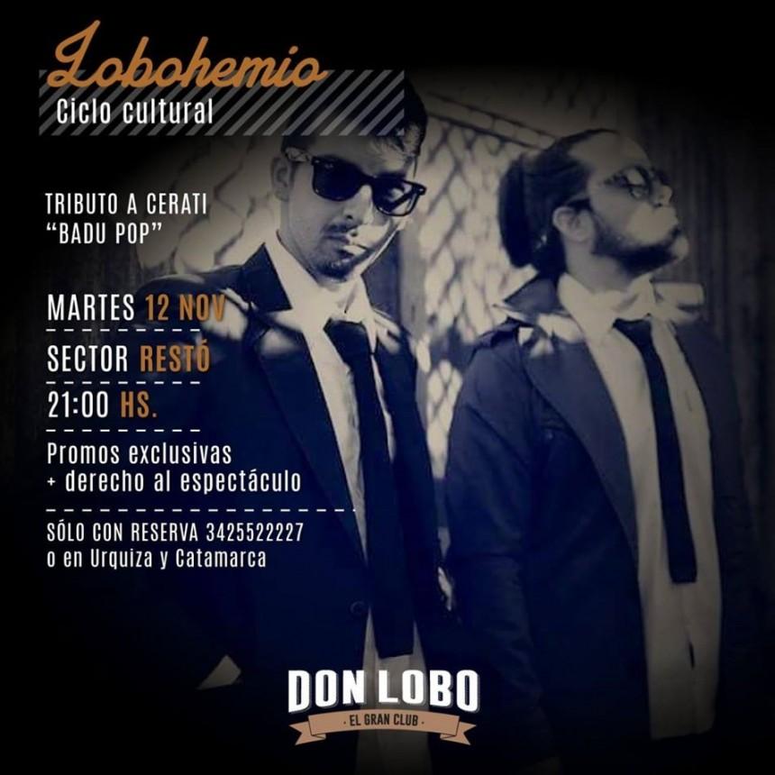12/11 - Gustavo Cerati Tributo a la Carta vivo en Don Lobo