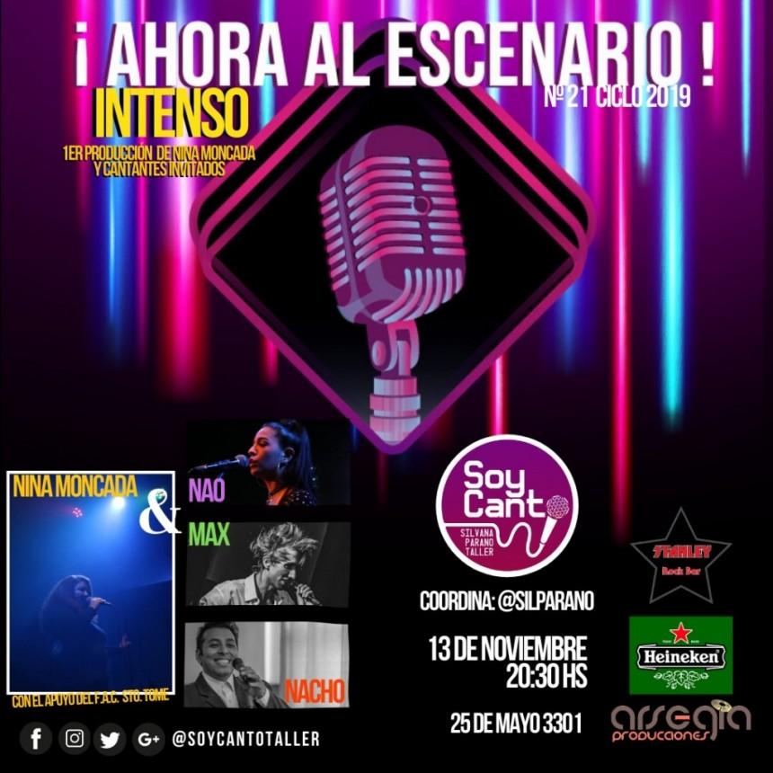 13/11 - AHORA AL AESCENARIO!!!! en Stanley