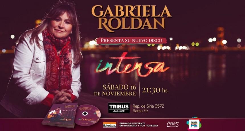 16/11 - Gabriela Roldan presenta disco