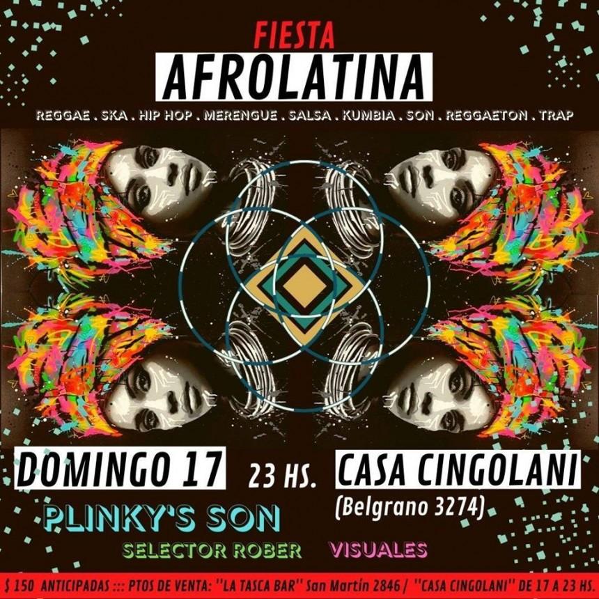 17/11 - Fiesta Afrolatina