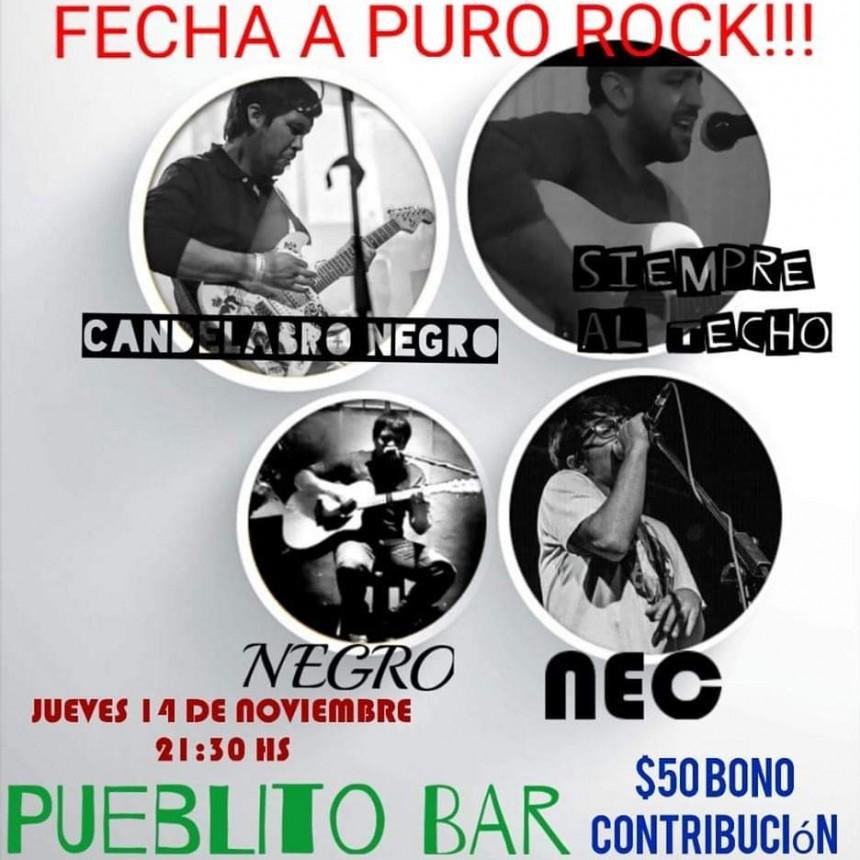 14/11 - FECHA A PURO ROCK (Unplugged)