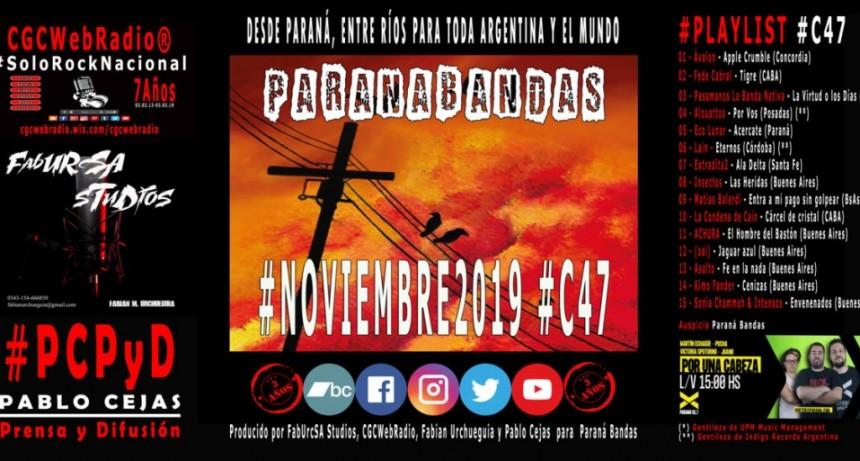 PARANÁ BANDAS - #C47 #NOVIEMBRE