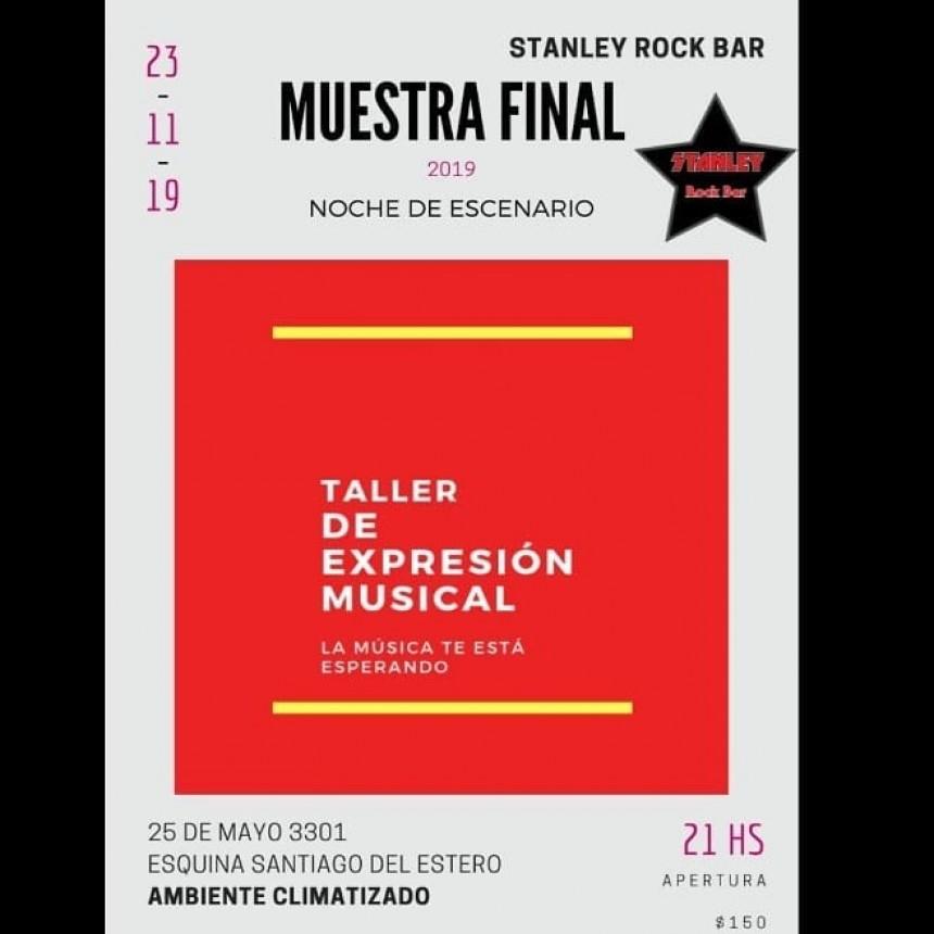 23/11 - TALLER DE EXPRESION MUSICAL: Muestra final