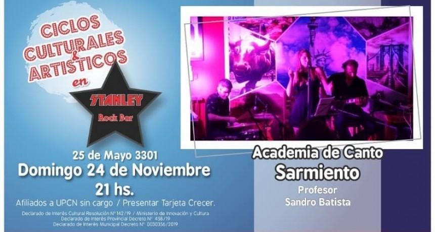 24/11 - ACADEMIA DE CANTO