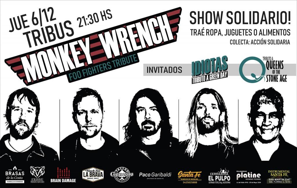 6/12 - Monkey Wrench (Tributo a Foo Fighters) Gratis En Tribus