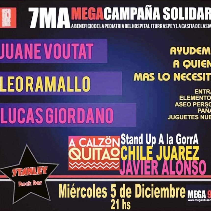 5/12 - Megacampaña Solidaria en Stanley