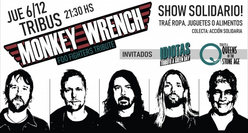 6/12 - Monkey Wrench (Tributo a Foo Fighters) Gratis En Tribus