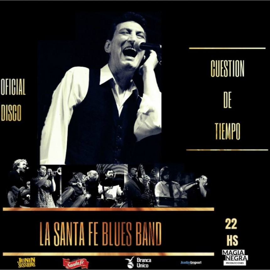 8/12 - La Santa Fe Blues Band presenta