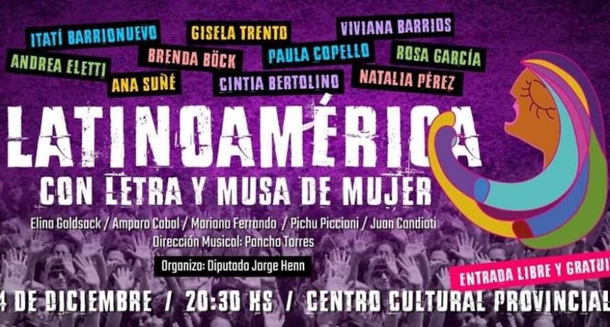 4/12 - Latinoamérica con Letra y Musa de Mujer