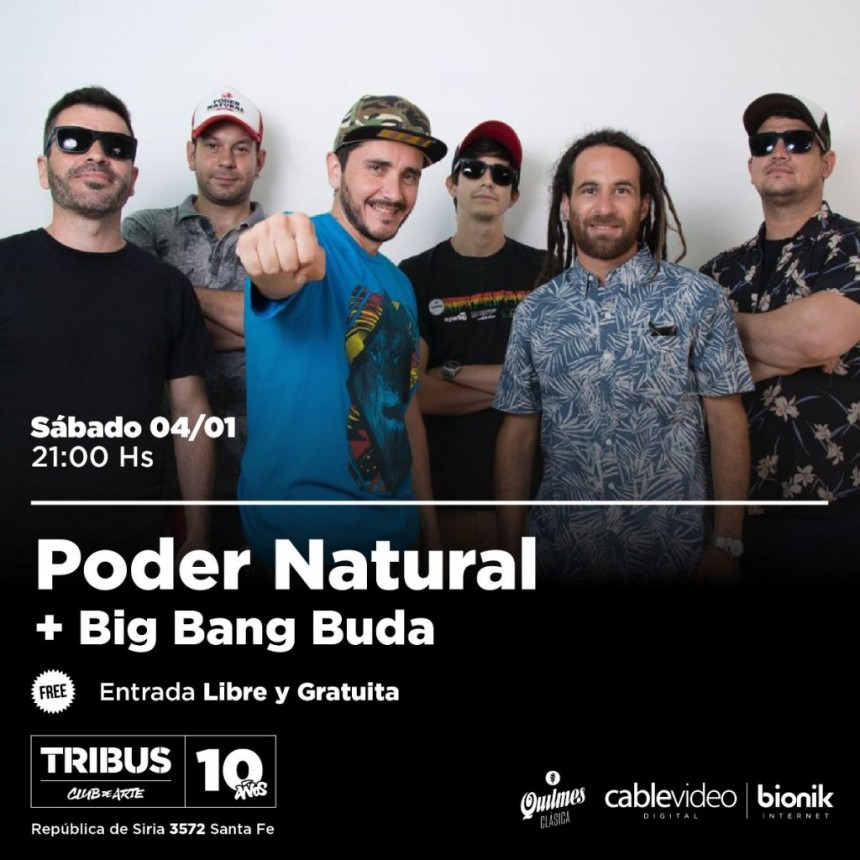 4/1 - Poder Natural  y Big Bang Buda