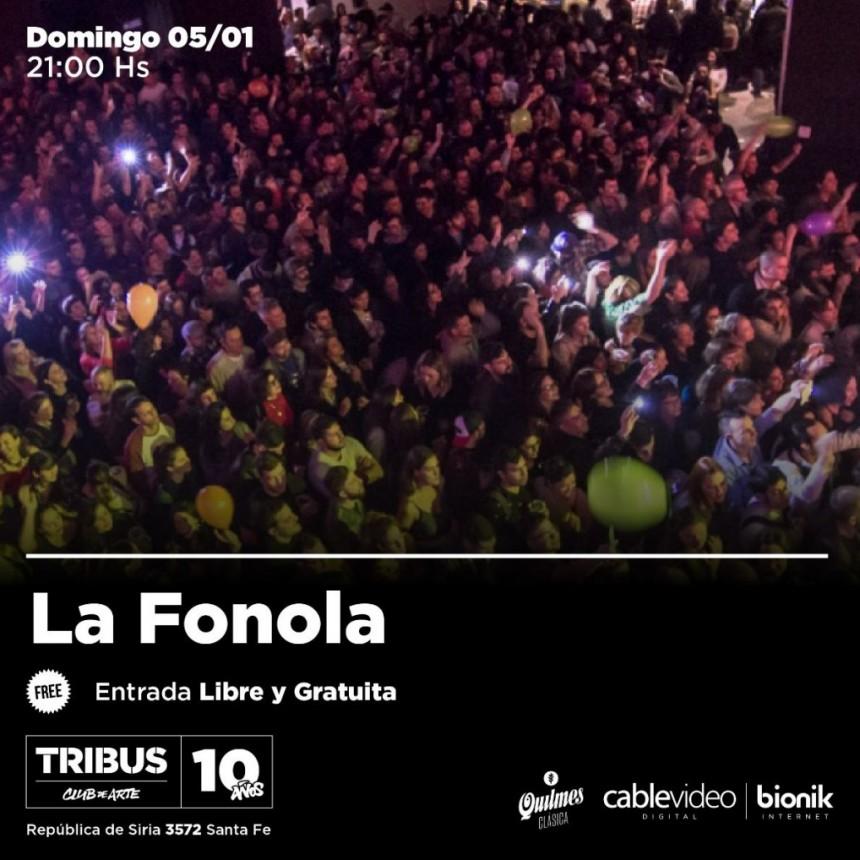 5/1 - La Fonola en Tribus Club de Arte